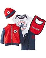 Converse Baby-Boys 5 PC Boxed Clothing Gift Set