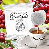 Caffè Italiano Bocca Della Verità Cialde SUPERIOR - Paquet de 100 dosettes -...