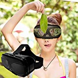 3d VR Auriculares / Gafas para IOS Android 4.5-6.0' Celulares, Virtual Reality Box para 3D Movies Games, se adapta para iPhone 8/8 Plus/7/7 Plus/6S 6 Plus, Samsung Galaxy S8/S7/S7 Edge/S6/S5, Moto LG HTC etc