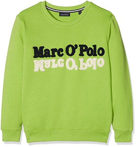 Sportlich Schicker Sweater in Lemon Green mit Großem Logo Stick von Marc O Polo Junior 1816103 (134/140)
