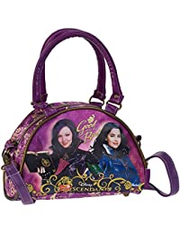 Karactermania Los Descendientes Fairest Bolso bandolera, 23 cm, Morado
