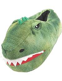 Cabeza del Dinosaurio del Tamaño de Niños Zapatillas