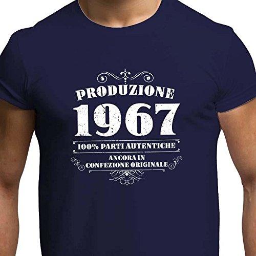 Super T-shirt da uomo da 50esimo compleanno Produzione 1967 – Maglietta  TN42