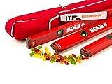 Sola BigX 3er Set 40 / 80 / 120cm in der Schutztasche / Meterstab und Gummibärchen gratis