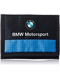Puma BMW Motorsport Geldbörse Geldbeutel Portemonnaie mit Klettverschluss blau