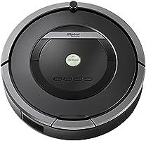 iRobot Roomba 871 Staubsaug-Roboter (mit Fernbedienung, 50% stärkere Reinigungsleistung) schwarz/grau