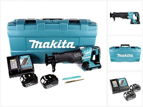 Preisvergleich Produktbild Makita DJR 360 RFK Reciprosäge Säbelsäge im Koffer 2x 18 V mit 2x BL 1830 3,0 Ah Akku und Ladegerät