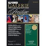 Ilford Galerie Premium Smooth Brillant 2001731 Papier jet d'encre Photo RC Brillant 13 x 18 cm 100 feuilles