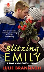 Blitzing Emily: A Love and Football Novel by Julie Brannagh (2014-01-28)