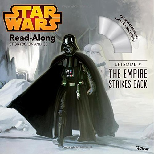 Star Wars: The Empire Strikes Back Read-Along Storybook and CD by Disney Book Group (2015-03-10) par Disney Book Group