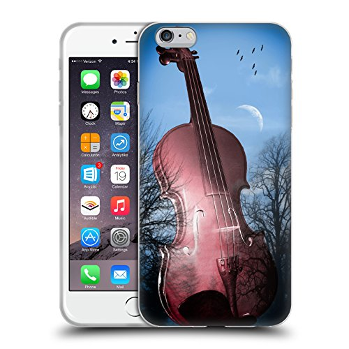 Offizielle Mark Ashkenazi Violin Musik Soft Gel Hülle für Apple iPhone 6 Plus / 6s Plus