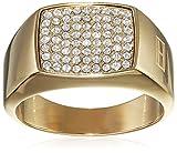 Tommy Hilfiger Jewelry Damen-Ring Classic Signature Edelstahl 2700733, vergoldet