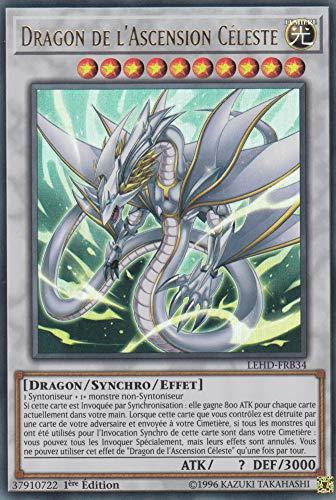 Carte YU-Gi-Oh!Dragon de l'Ascension Céleste : LEHD-FRB34 -VF/Ultra Rare-