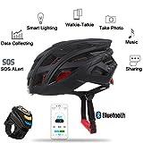Bazaar LIVALL 7in1 Bluetooth Smart Fahrradhelm LED Rücklicht Telefonanruf Musik Spieler Kamera Unterstützung APP