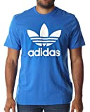 adidas Herren T-shirt Originals Trefoil, Bluebird, L, AJ8829