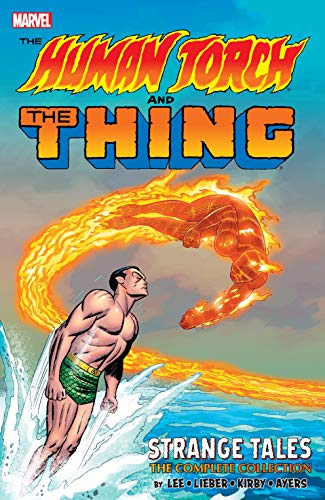 The Human Torch & The Thing: Strange Tales - The Complete Collection (Strange Tales (1951-1968)) (English Edition) - Stans-siegel