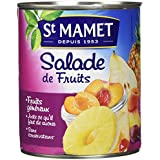 SAINT MAMET Salade de Fruits Macédoine - Lot de 4
