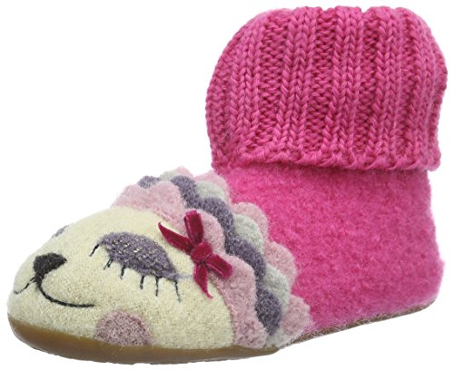 Haflinger Sleepy, Chaussons Montants Fille, Bleu