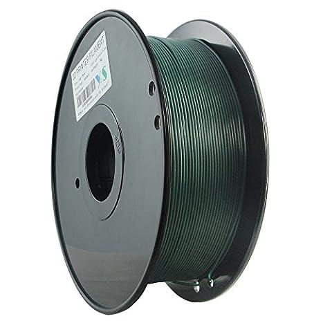YS Filament ys-1.75-pla-dg-1000ys sans nœuds 3D, Pla Filament 1,75mm, 1kg,