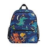 Sac à Dos pour Enfants Pirate Octopus Whale Kindergarten Preschool Bag pour Les Tout-Petits Filles garçons