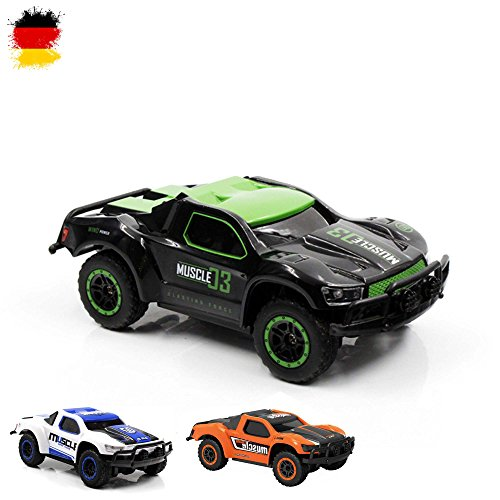 HSP Himoto 2,4Ghz RC Ferngesteuerter Mini Off Road Short Course Truck, Ma stab 1 43 mit 4WD Antrieb, Fahrzeug, Auto, Car, OVP*