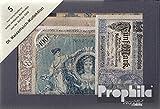 Allemand Empire 5 différents billets de banque Allemand empire (billets de banque pour les collectionneurs)