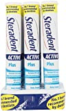 12 x Steradent Active Plus 30 Tablets