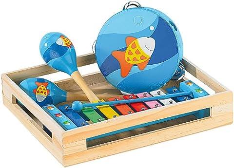 Playtastic Musikinstrumente: Fröhliches Instrumente-Set für kleine Musikanten (Instrumente für Kleinkinder)