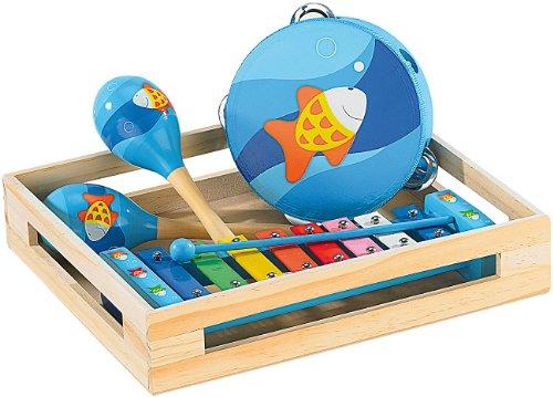 Playtastic Musikinstrument: Fröhliches Instrumente-Set für kleine Musikanten (Xylophon)