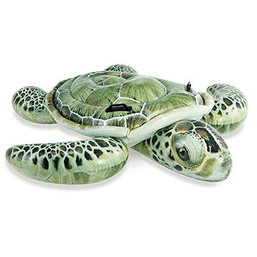 fblasbar Meeresschildkröte Rutscher 1.91m x 1.7m Schwimmbad Strand Spielzeug ()
