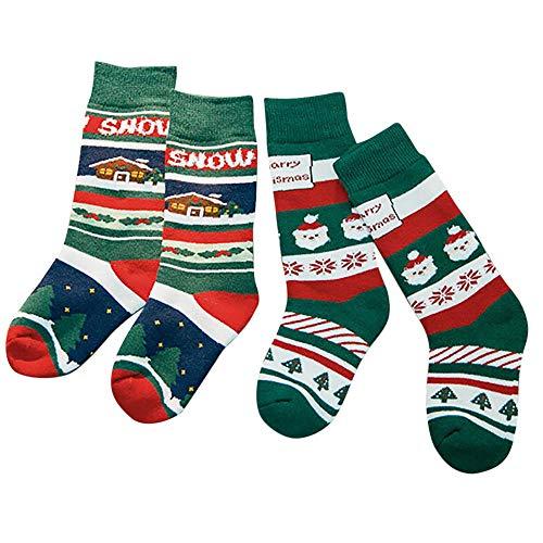 XuxMim Baby-Jungen-Mädchen-Winter-nette beiläufige Socken-mittlere -