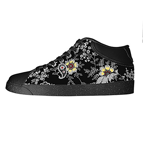 Dalliy Floral Flower Men's Canvas shoes Schuhe Lace-up High-top Sneakers Segeltuchschuhe Leinwand-Schuh-Turnschuhe C