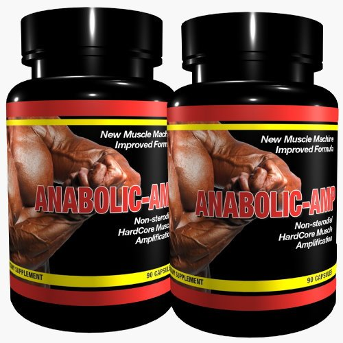 ANABOLIC AMP | 2x 90 Kapseln | Non-Steroidal Hard Core Muscle Amplification |The Original | for MaXimum Results | Muskelaufbau Muskelschutz Muskelstraffung für Männer & Frauen | Premium GMP & ISO 9001 Qualität (Mann-sport Iso Amino)