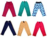 #10: IndiStar Girls Premium Cotton Full Length Lower/Track Pants/Pyjamas with 2 Open Pockets(Pack of 6)