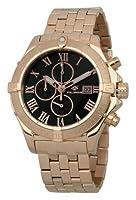 Wellington WN114-328 - Reloj cronógrafo de cuarzo para hombre con correa de acero inoxidable, color rosa de WELLINGTON