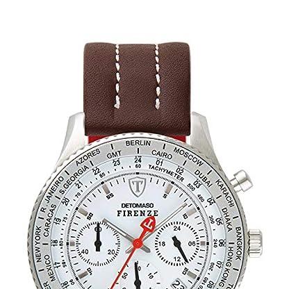 DETOMASO-Firenze-Herren-Armbanduhr-Chronograph-Analog-Quarz-silbernes-Edelstahlgehuse-weies-Zifferblatt-Jetzt-mit-5-Jahre-Herstellergarantie