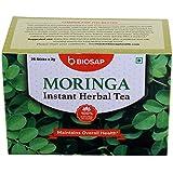 [Sponsored]Biosap Moringa Instant Herbal Tea-Caffeine Free, Gluten Free, NON GMO, Pack Of 25 Sticks