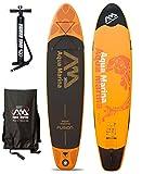 AQUA MARINA FUSION SUP gonfiabile Stand Up Paddle board surf heliobil 2016