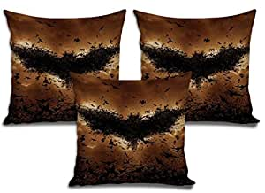 Sleep Nature's Velvet Cushion Covers Set of 3 - (Size-16x16 inches)