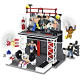 WWE Stackdown Train and Rumble Playset with 2 Figures  'Styles May Vary'