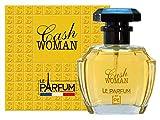 Le Parfum de France Cash Woman - Eau de toilette para mujer, 100 ml