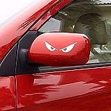 RoadRoma Croce Riflettente Decal Sticker Auto Camion Moto Casco-Bianco