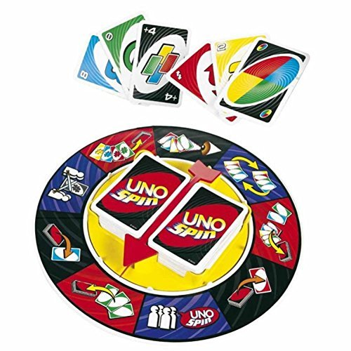 Vortex Toys UNO Spin Wheel Card Family Board Game  available at amazon for Rs.519