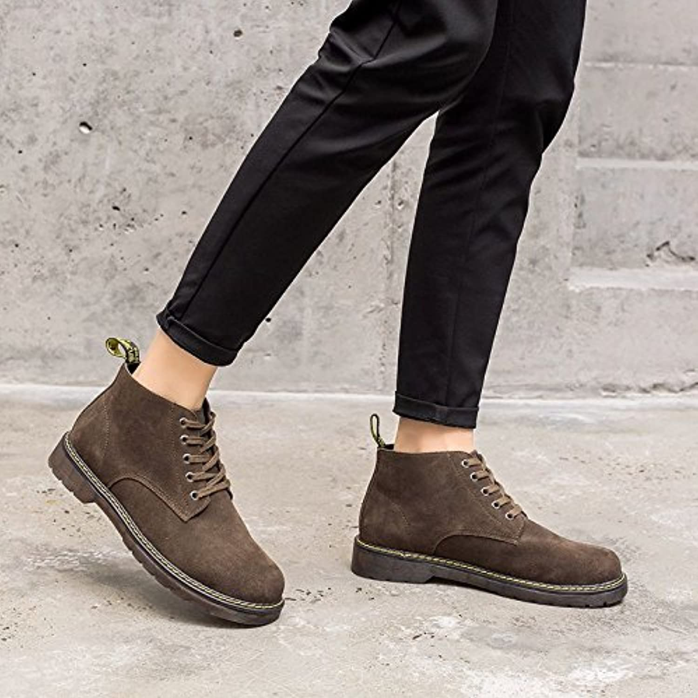 HL-PYL-Cashmere Version coréenne de Martin Boots chaussures pour aider les chaussures Boots en cuir Bottes courtes Bottes rétro... 05b287