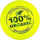 Eurodisc Eurodisc Kinder Frisbee 100 Prozent Organic, Neongelb, 100g, 23cm