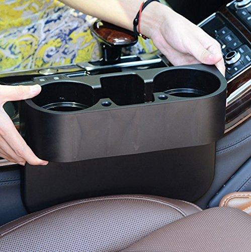 EX1 Universal Auto Flaschenhalterung Getränke Lebensmittel Smartphone Zubehör Aufbewahrungskiste Organisator (Getränke-container Glas)