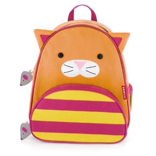 Skip Hop Zoo Packs niño pequeño Mochilas, color del gato: Gato