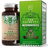 FS Saw Palmetto Pastillas Para la salud de la Próstata y Pelo - Extracto 5: 1 [3000 mg] con zinc |...
