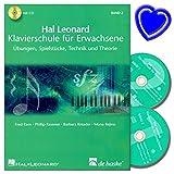 Hal Leonard Klavierschule für Erwachsene Band 2 mit 2 CDs von Fred Kern - Übungen, Spielstücke, Technik und Theorie -