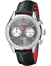 Tag Heuer Herren thcv5110fc6310Carrera Analog Display Swiss Automatische schwarz Armbanduhr